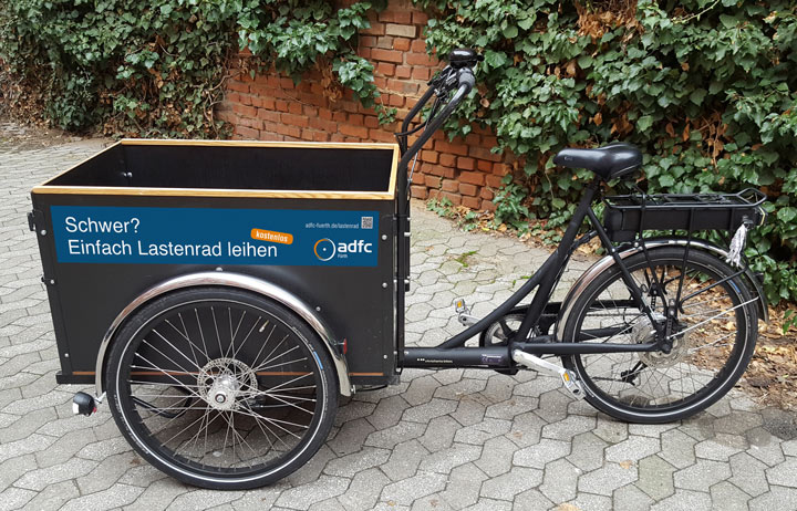 Lastenrad ADFC Fürth